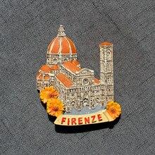 Florence Italië Hars Koelkast Magneet Souvenirs 3D Magneet Sticker Reizen Souvenir Keuken Home Decoratie Gift Decor