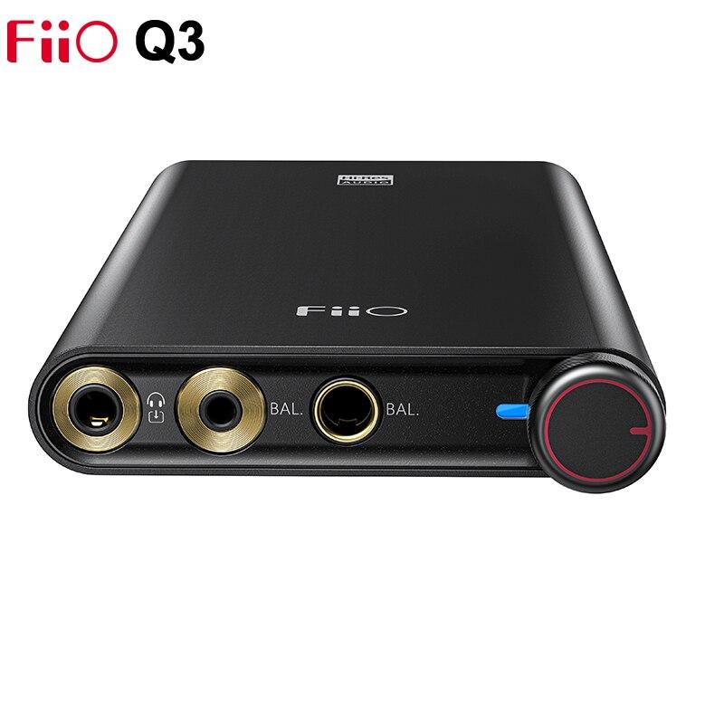 FiiO Q3 THX Balanced DAC/Headphone Amplifier DSD512 768K/32Bit AK4462 DAC XMOS XUF208 with 2.5/3.5/4.4mm output