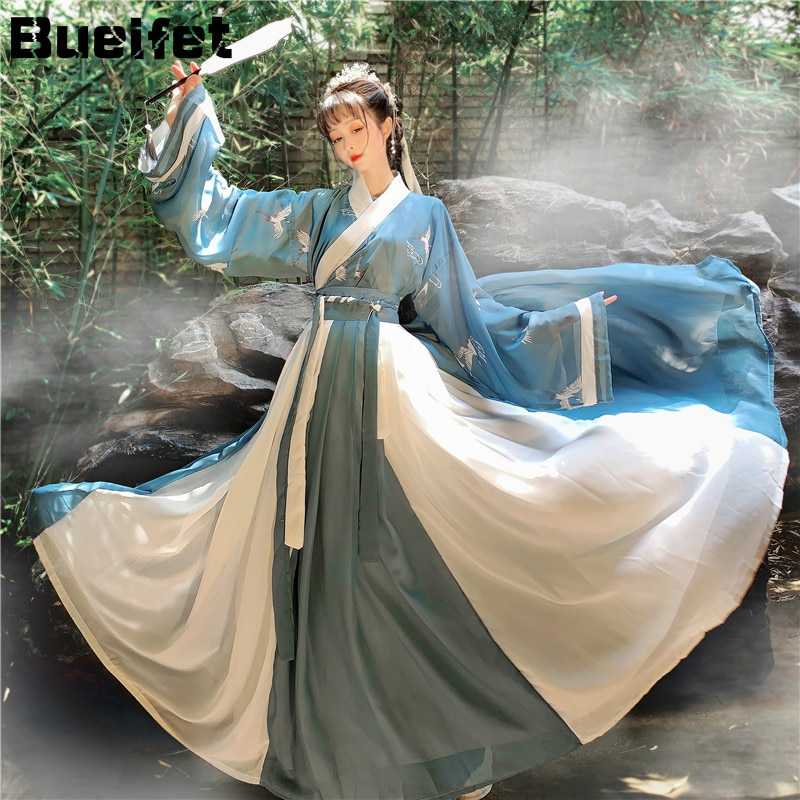 AliExpress - Chinese Dress Oriental Style Fairy Hanfu Costume Cosplay Ancient Traditional Elegant Tang Dynasty Princess Performance Clothes
