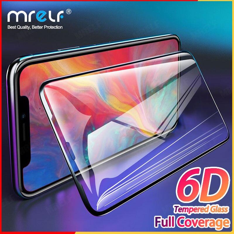 6D закаленное стекло для iPhone 11 Pro X XS Max, защита экрана Plus 7 8, стекло на iPhone 11 Pro Max XS 6 7 8, стекло SE 2020
