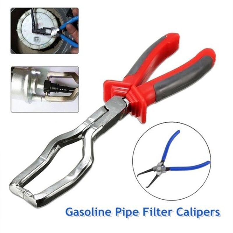 Стальной зажим для снятия шланга, инструмент для снятия бензиновых фитингов, кусачки для специальных ремонтов автомобильных труб, фильтров