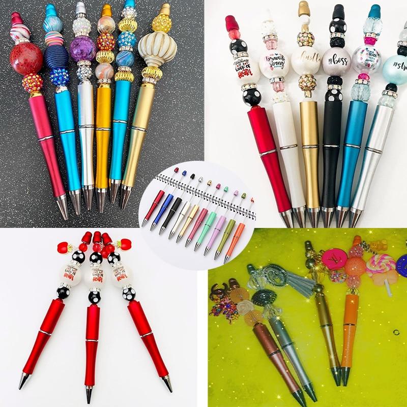 Фото - Роскошная шариковая ручка beaden, шариковая ручка «сделай сам» для свадьбы, дня рождения, волшебная ручка, модная перьевая ручка, подарок, ручк... ручка