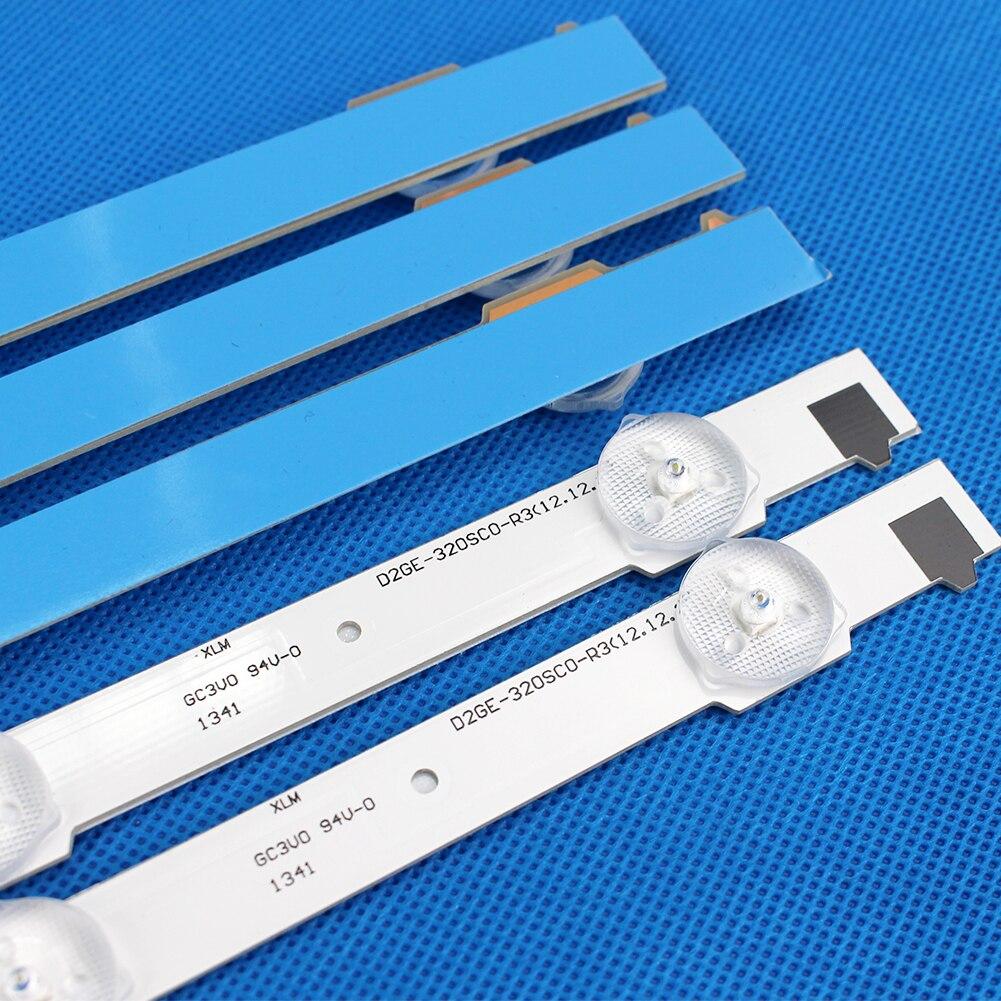 9 Lamps LED Backlight Strip For Samsung UE32F6200AK UE32F5020AK UE32F5505AK UE32F5560AK UE32F6100AK Bars Kit Television LED Band enlarge