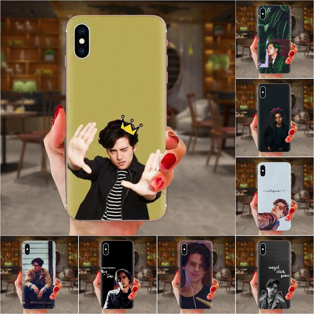 Hermosa caja de los accesorios del teléfono Cole Sprouse para Samsung Galaxy Note 5 8 9 S3 S4 S5 S6 S7 S8 S9 S10 5G mini Plus Lite