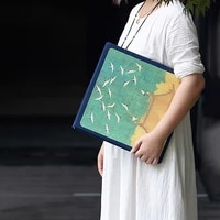 chinese style self adhesive scrapbooking album retro 18 inch diy handmade instax album couple memorial book birthday gifts ideas