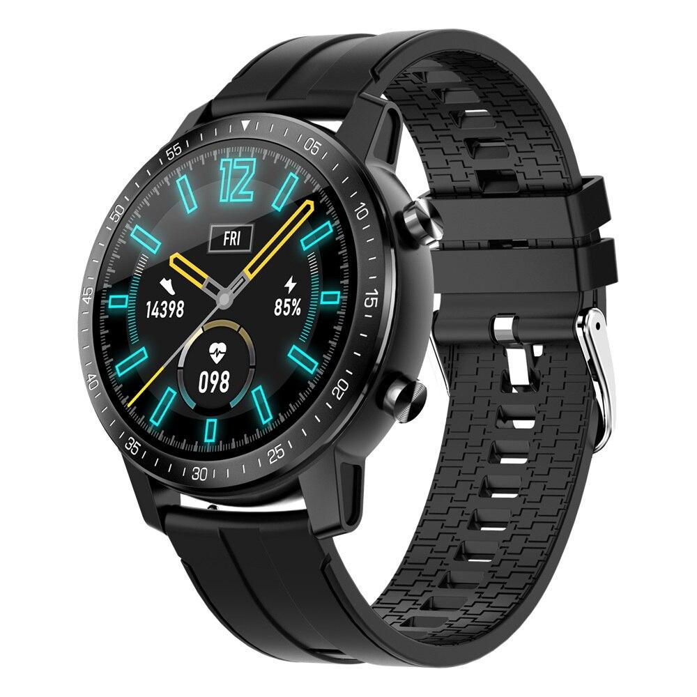 SENBONO S30 1,3 -pantalla táctil redondo 60 días en espera de Monitor de presión arterial personalizado marca IP68 agua Relojes