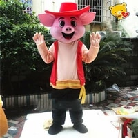 easter pig mascot costume party cosplay outfit game adult dress parade animal factory wholesale free postage