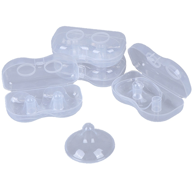 Silicone Nipple Protectors Feeding Mothers Nipple Shields Protection Cover Breastfeeding Mother Milk Silicone Nipple