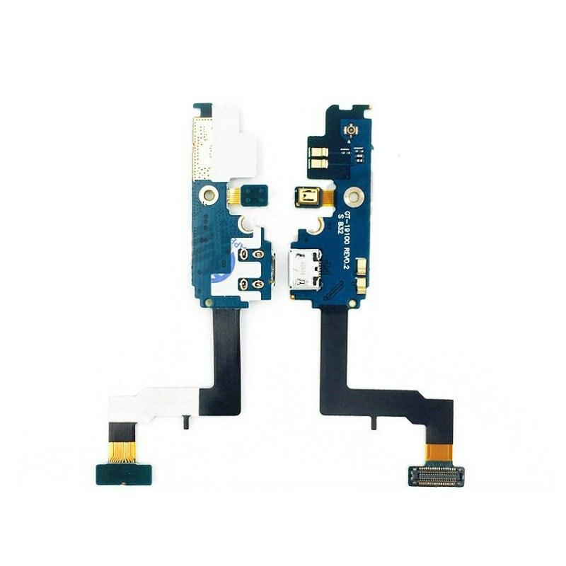 Para samsung galaxy s2 i9100 i9108 i9100g conector usb carregador porto doca cabo flexível de carregamento