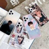 true beauty cha eun woo transparent cell phone cover case for xiaomi redmi k30s ultra note 9s 9 pro max mi 10 lite 11 10t pro