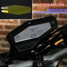 Para Yamaha MT-09 FZ-09 clúster, Protector de pantalla contra arañazos, Protector de pantalla MT09 MT 09 FZ09 FZ 09, accesorios para motocicleta