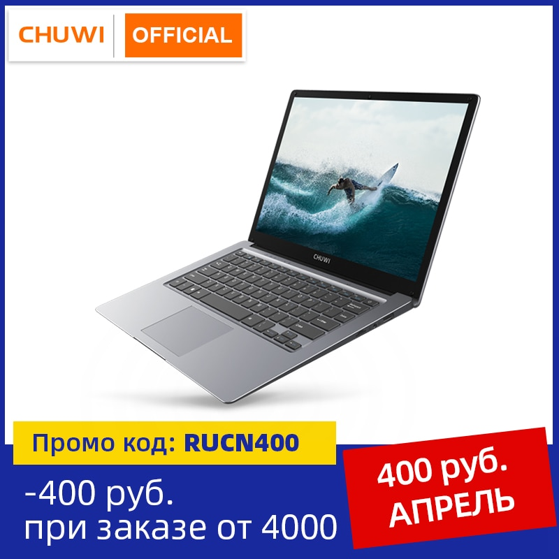 CHUWI HeroBook Pro+, 13.3 Inch, 3200*1800 Resolution, Intel Celeron J3455 Processor, LPDDR4 8GB, 128GB ROM, Windows 10, Laptop