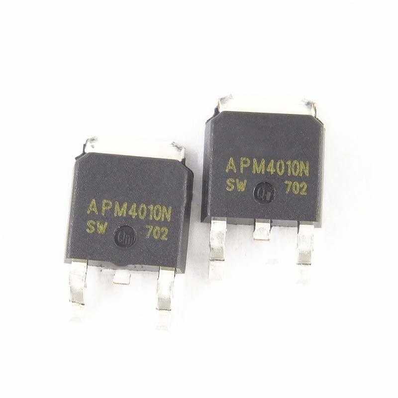 10 STÜCKE APM4010N TO-252 APM4010 4010N TO252 SMD
