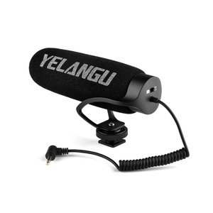 MIC08 Universal Video Microphone 3.5mm Plug is Suitable for Canon Nikon and Sony for Smartphone Camera Interview Live Broadcast
