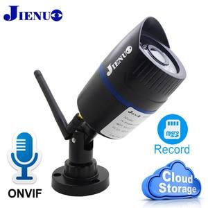 JIENUO IP Camera Wifi Cloud Storage HD Audio Cctv Security Outdoor Waterproof Wireless High Definition Surveillance HD Home Cam