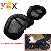 NINJA650 Mesh Seat Cover Cushion Guard Insulation Breathable Sun-proof Net For KAWASAKI Ninja 650 EX650 ER6N ER-6N ER6F ER-6F