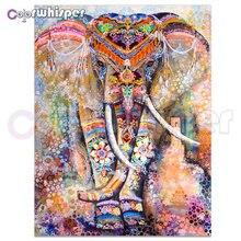 Daimond Malerei 5D Voll Platz/Runde Elefanten Kunst Bild Diamant Malerei Strass Kristall Kreuz Stich Mosaik 876DP