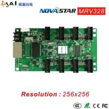 Contrôleurs Full-colorAsync résolution MRV328 256*256 sortie de données rvb 16 groupes Interface HUB75 intègre 8 standard HUB75 con