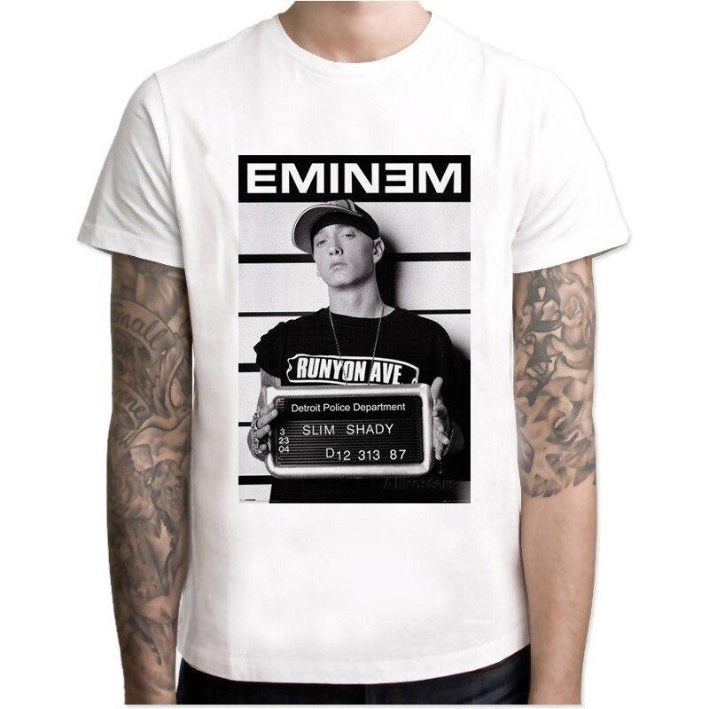 Эминем Футболка мужская хип-хоп крутые футболки Makaveli Рэппер Snoop Dogg Biggie Smalls J Джей Коул-З саваж хип-хоп рэп музыка Топы