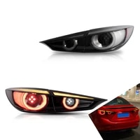 led taillights for mazda 3 axela 2014 2018 smoked with dynamicwith turn signal reverse drl lights car accessories