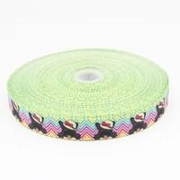 25 75mm bulldog style grosgrain ribbon design customized %e2%80%8blogo printed for hair bow diy decor bag sewing e277