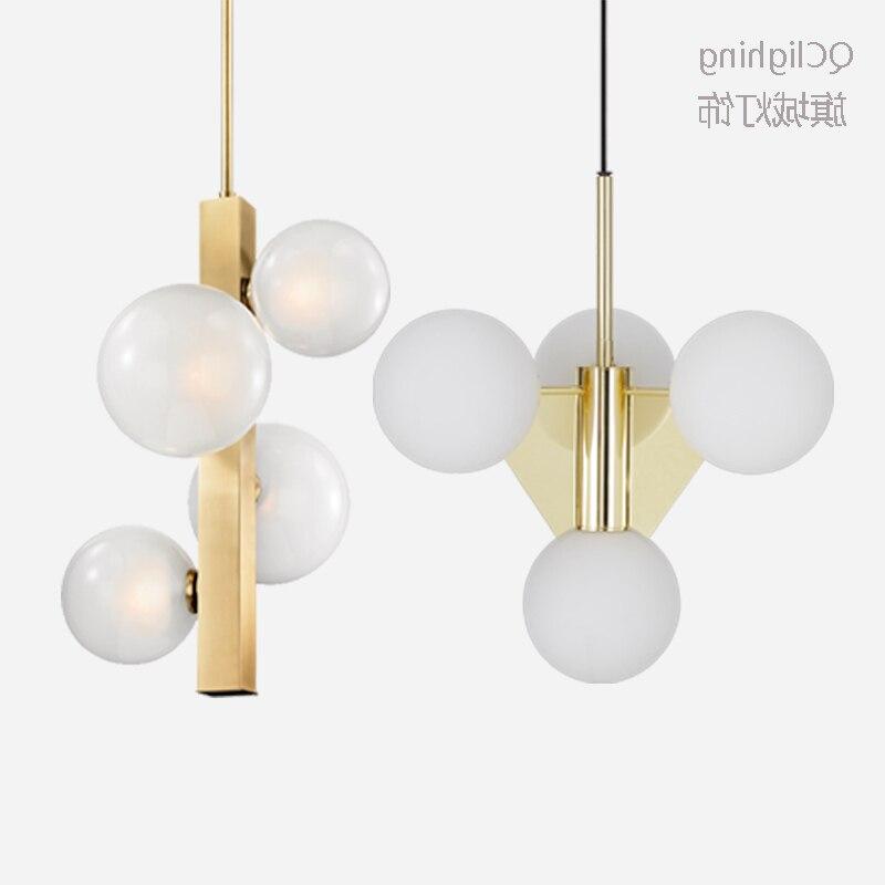 Lámpara colgante minimalista moderna lámpara de techo nórdico de decoración de ropa...