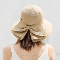 caps women summer new style fashion split sunscreen straw hats outdoor ladies sunshade fisherman cap bow sun hat high quality