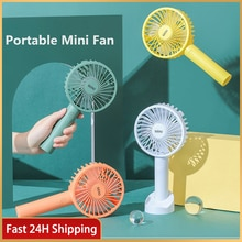 DTVANE 1200mAh Summer Cooler Mini Portable Fan USB Charging Personal Rechargeable Portable Office Outdoor Travel Fans