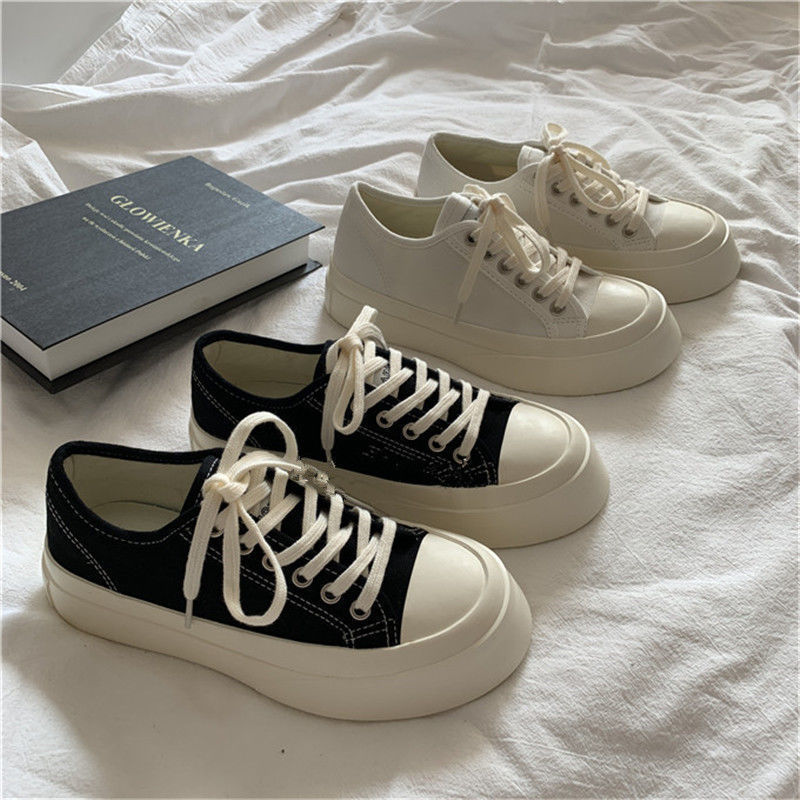 2021 Summer New Women's Sports Shoes Lolita Platform Vintage Casual Footwear Round Head Tennis Japanese Boots Female