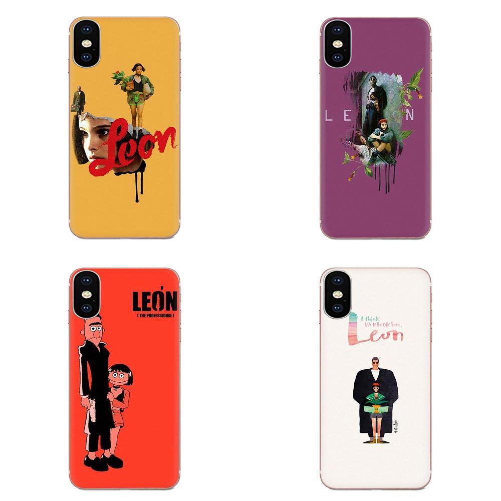 Чехол из ТПУ для Apple iPhone 4 4S 5 5C 5S SE SE2020 6 6S 7 8 11 Plus Pro X XS Max XR Leon Matilda Natalie Portman
