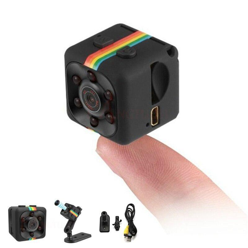 2019 sq11 Mini cámara 960P HD Sensor de visión nocturna videocámara movimiento DVR Micro Cámara deporte DV Video cámara pequeña cámara SQ 11