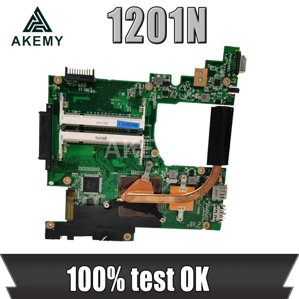 Motherboard Para ASUS Eee PC 1201N 1201NL 1201NL Laptop motherboard Mainboard REV2.2 Trabalho Testado totalmente testado frete grátis