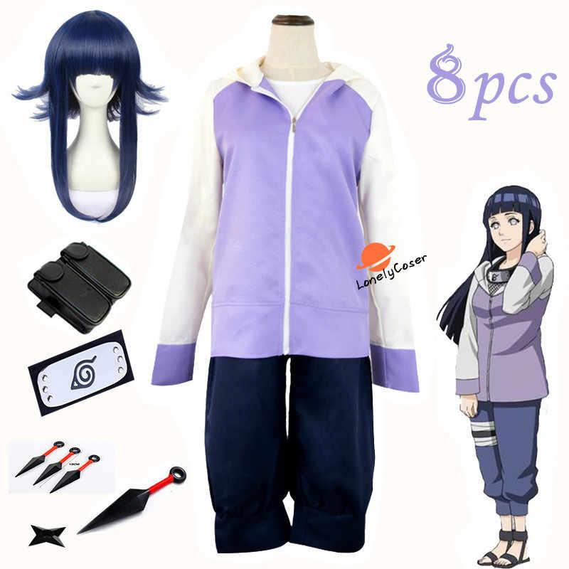Anime Naruto Hyuga Hinata Cosplay Kostüm Heißer Naruto Shippuuden Hinata Hyuga 2nd Generation Vollen Satz Für Erwachsene Frauen Männer Kostüm Anime Kostüme Aliexpress