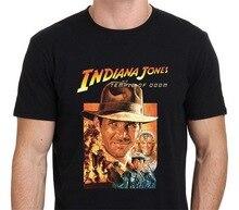 T-shirt site web de conception de mode Indiana Jones et le Temple de Doom Vintage affiche de film à manches courtes O cou T-Shirts grande taille