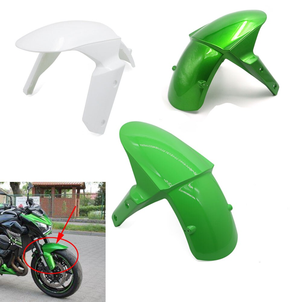 Cubierta de guardabarros frontal para motocicleta, carenado para Kawasaki Z800 14-16 / ZX10R 11-15 / Z1000 14-17 / ZX6R 2009 - 2017