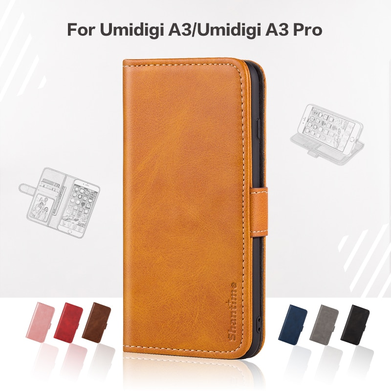 Funda abatible para umideli A3 funda de negocios de cuero de lujo con cartera magnética funda para teléfono umideli A3 Pro