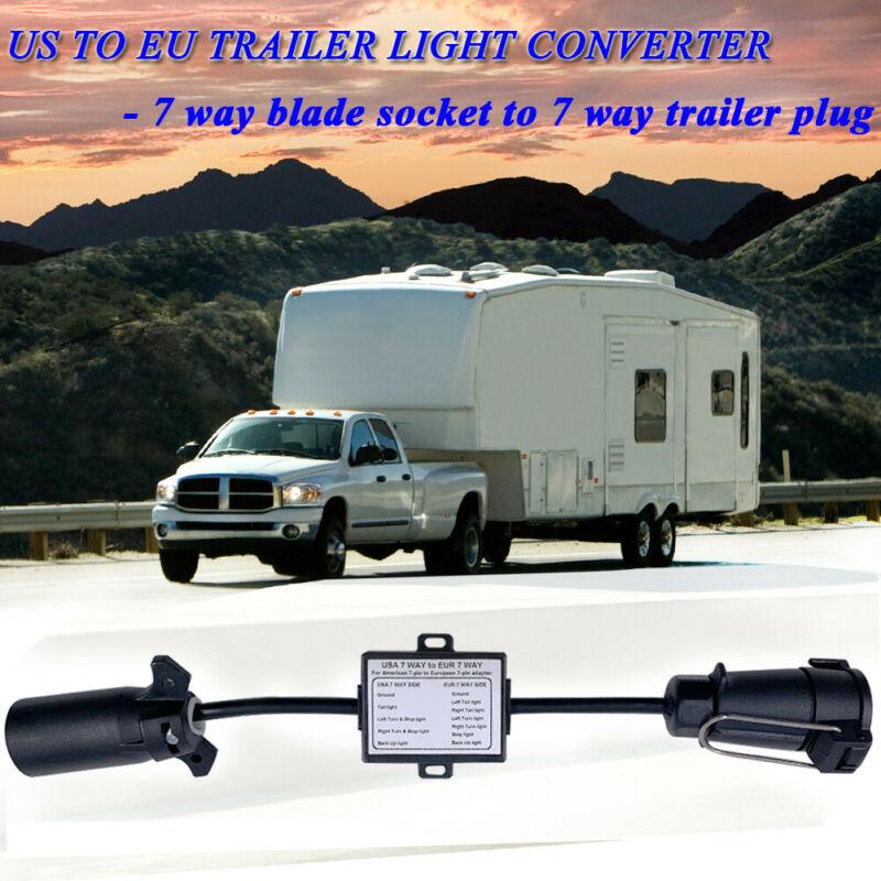Светильник света прицепа США в ЕС светильник прицепа США 7-полосное лезвие розетка в ЕС 7-контактный круглый разъем