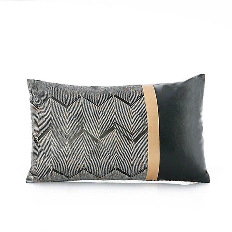 Pillow Cover Velvet Cushion Cover for Living Room Sofa 45*45 Kussenhoes Blue Home Decorative Housse De Coussin