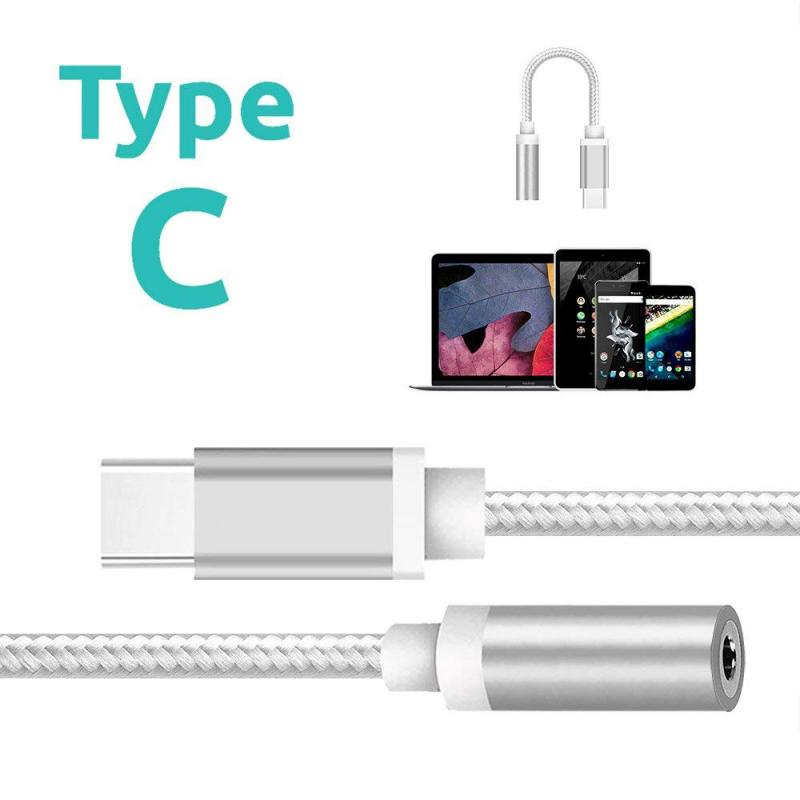 For Google Pixel 5 4 4XL 3 2 3XL 2XL USB Digital Type C To 3.5mm Jack Aux Adapter Headphone Adapter