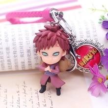 Nouveau Naruto acrylique porte-clés Kakashi Gaara Sasuke Akatsuki membres porte-clés Itachi pendentifs porte-clés Cosplay entourant cadeau