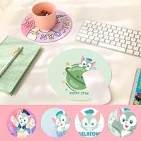 disney gelatoni cat soft rubber professional gaming mouse pad computer anti slip laptop pc mice pad mat gaming mousepad