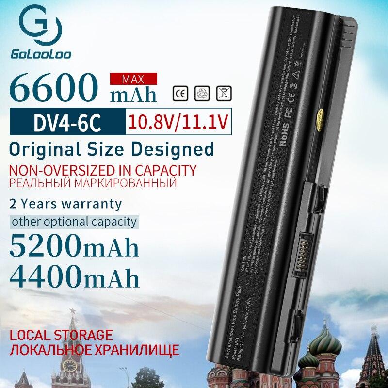 Golooloo 6 cells  Laptop Battery for HP Pavilion HSTNN-IB79 HSTNN-LB72 HSTNN-LB73 HSTNN-DB72 HSTNN-XB72 KS526AA  dv5 dv5-2000