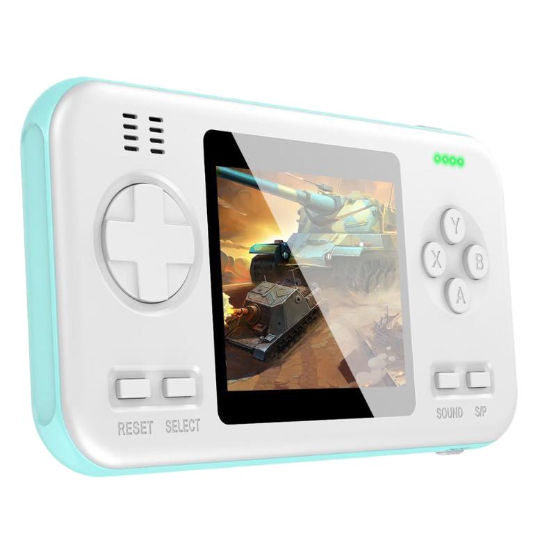 Nueva consola de mando de videojuegos portátil con batería externa de 6000MAh buil-in 416, juegos clásicos, juguetes para niños, regalo