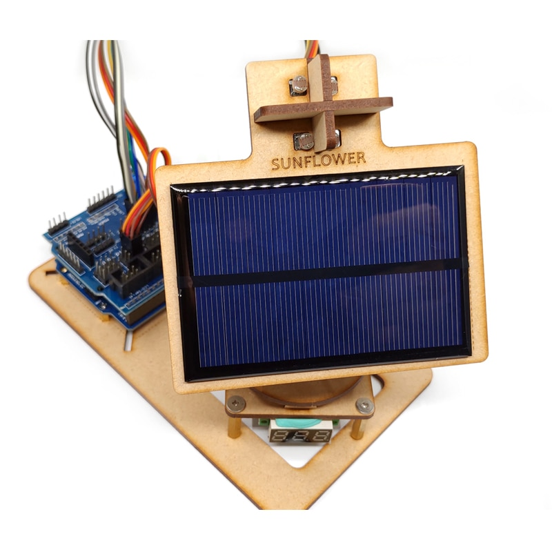 Arduino Intelligent Solar Tracking Device Diy Technology Small Production Learning Programming Kit Open Source pulse production technology