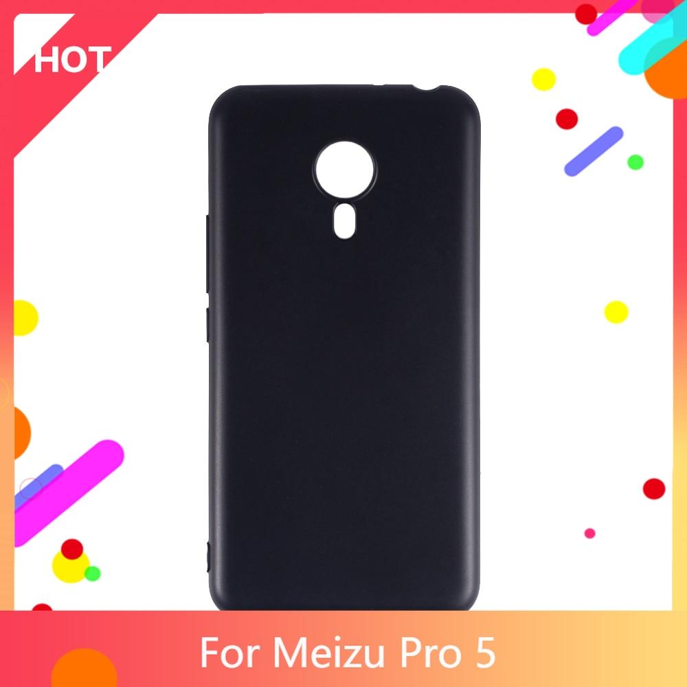 Pro 5 Case Matte Soft Silicone TPU Back Cover For Meizu Pro 5 Phone Case Slim shockproof