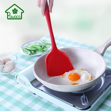 Cuisine Silicone tourneurs antiadhésif ustensile de cuisine Scoop pelle frite spatule pour oeuf poisson ustensiles de cuisine outils de cuisson spatule tourneurs