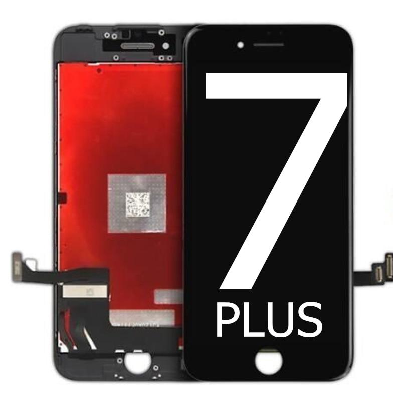 OEM para iPhone 7 PLUS pantalla LCD MONTAJE DE digitalizador con pantalla táctil reemplazo sin píxeles muertos vista completa 7 PLUS