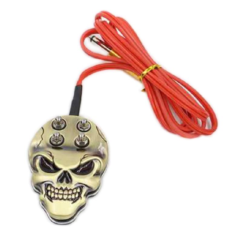 1pcs Tattoo Kit Skull Tattoo Foot Pedal Switch Control   for Tattoo Machine Wholesale tattoo supplier free shipping