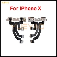 original tested light proximity sensor flex cable with front facing camera module for iphone x front camera