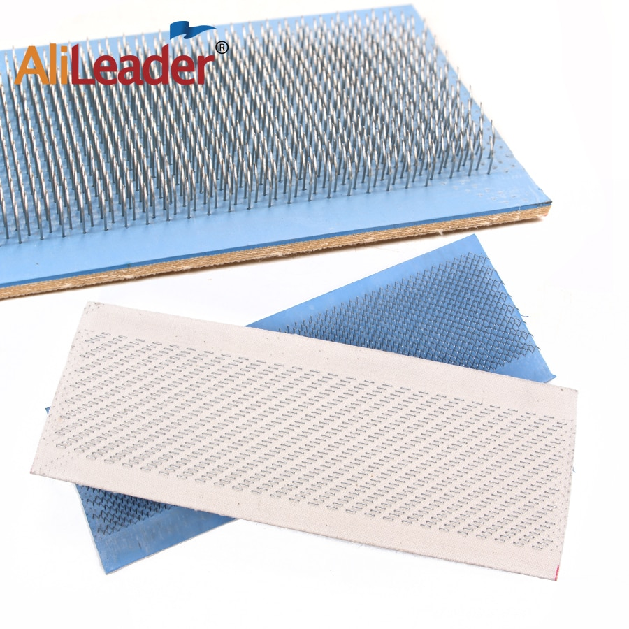Alileader Free Shipping 24*9 cm Hair Bundle Drawing Mat Bulk Hair Extension Hair Drawing Mat Cheap H